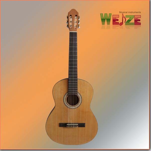"39"" Spruce Araucaria Plywood Classic Guitar"