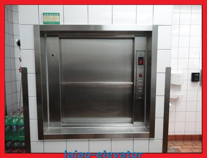 Cheap Manual Open Sliding Door Dumbwaiter Goods Elevator