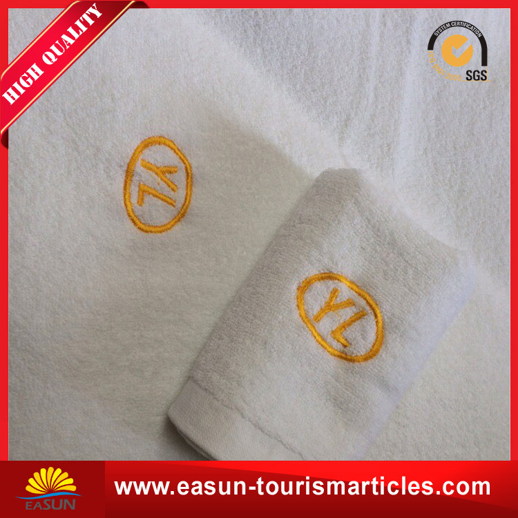 Hotel Towel with Write Color $ Customer′s Logo