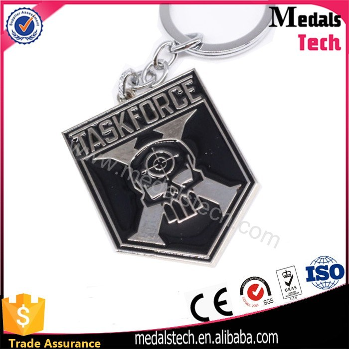 Hot Selling Gifts Customized Metal 3D Logo Souvenir Keychain