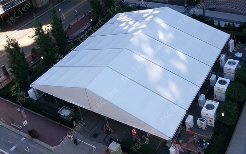 Hot Sale Festival Party Tent, Square Tent, Wedding Event Tent with PVC Sidewall
