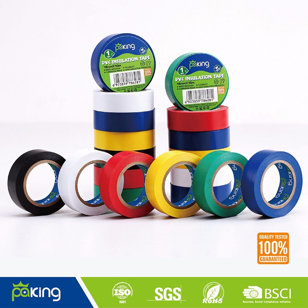 American Market Natural Rubber A Grade Color PVC Electric Insulation Tape