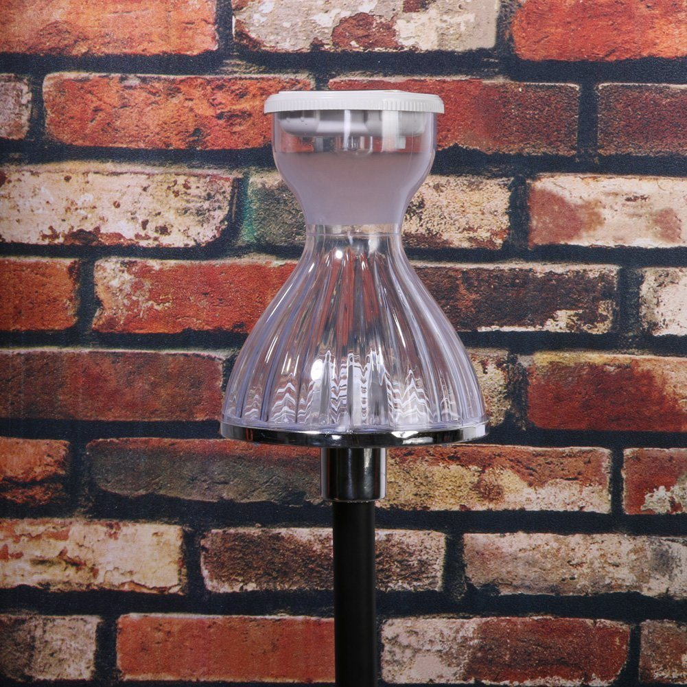 Solar-Powered LED Garden/Landscape Lights, Energy-Saving Dg Skirt Lamp