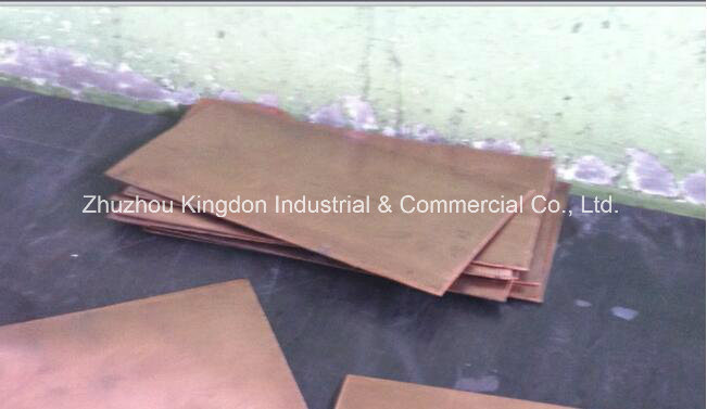 Tungsten Heavy Alloy Non-Ferrous Metal-Pure Tungsten Copper Sheet
