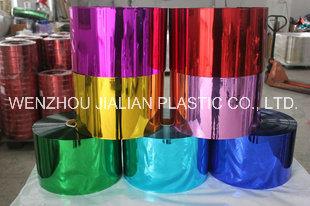 Rigid Metalized PVC Film/ PVC Coating Film/Aluminizing Film for Decorations