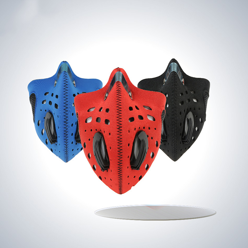Cool Cycling Anti Pollution Running Bicycle Half Face Mask with Filter