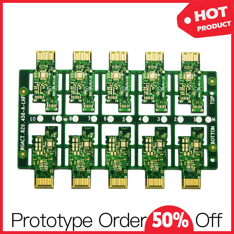 Flex-Rigid 6 Layer Impedance Immersion Gold PCB