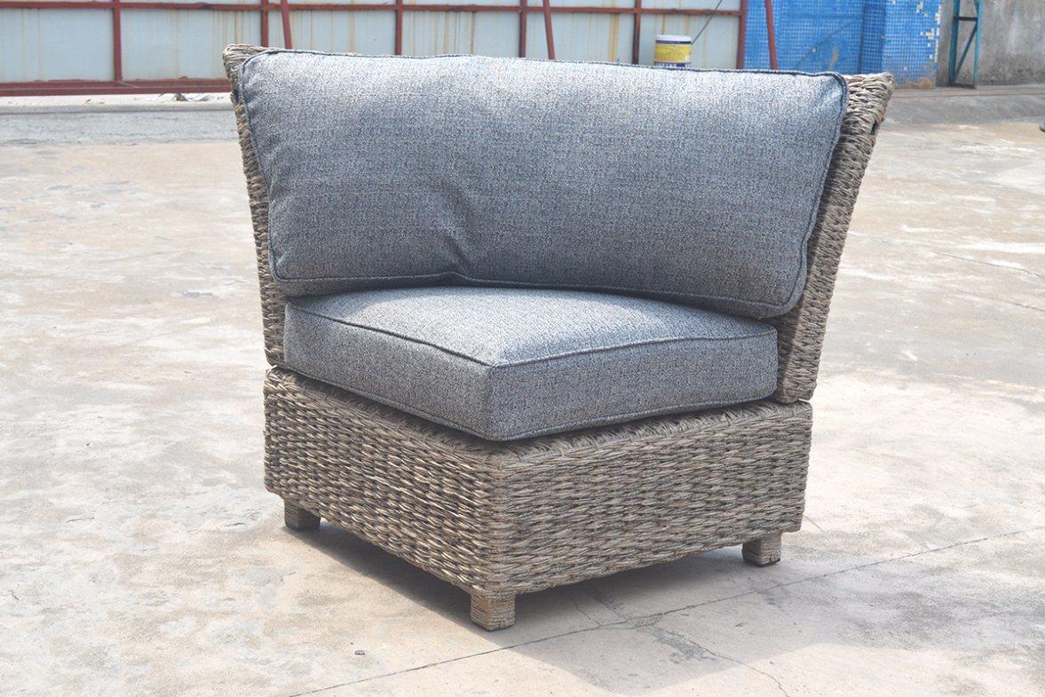 Patio Outdoor Garden Furniture Magic Wicker Rattan Alum Sofa (J649KD)