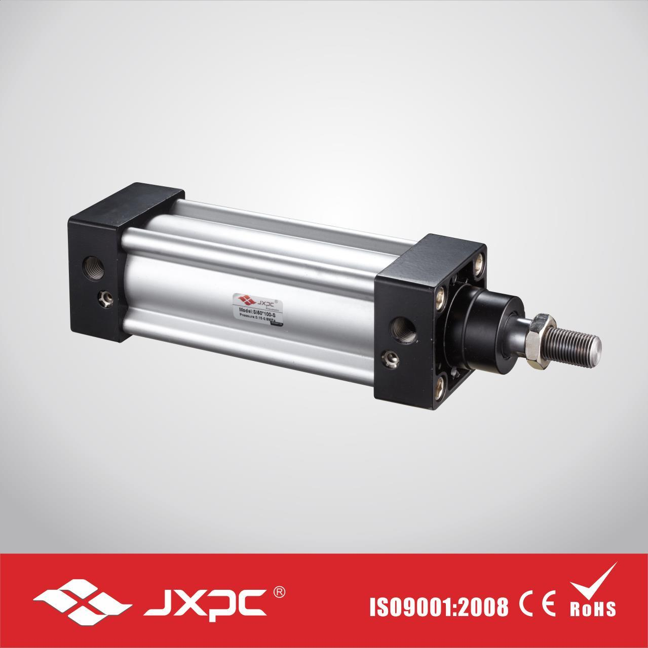 Si Series ISO6431 Pneumatic Cylinder Standard Air Cylinder