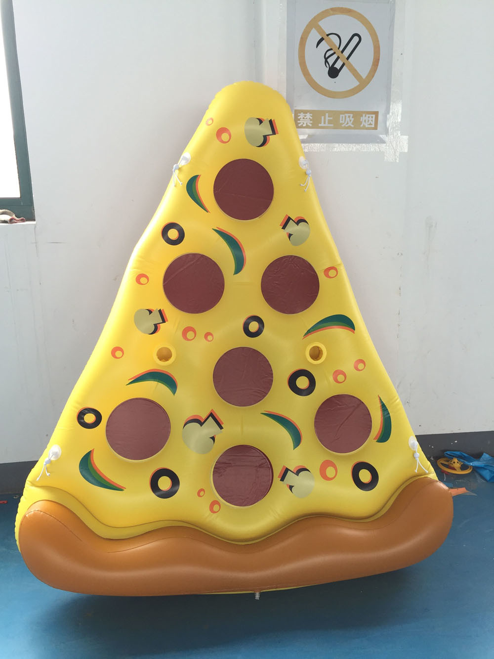 Inflatable Pizza Air Mat