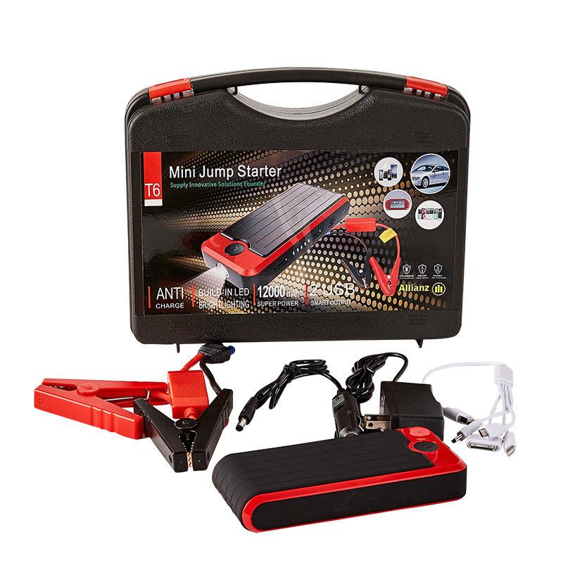 Portable Good Quality Power Bank 12000mAh Car Jump Starter Car Accessories