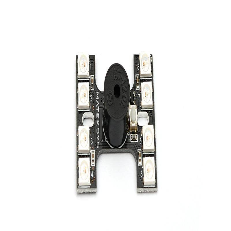 Matek H-Type Tail Light Ws2812b LED & Loud Buzzer Dual Modes for Fpv Racing Mini Quad