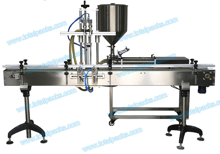 Automatic Two Heads Bottle Filling Machine for Cream (FLC-200A)
