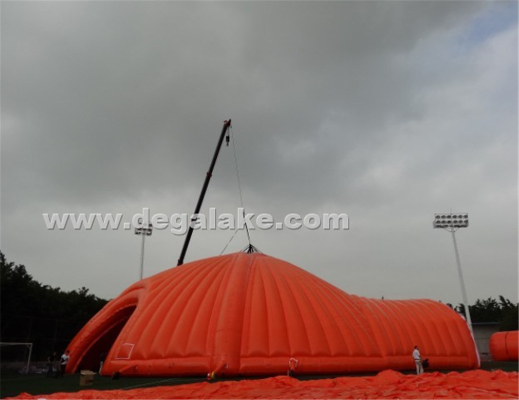 Huge Inflatable Event Tent Customized / Inflatable Party Tent