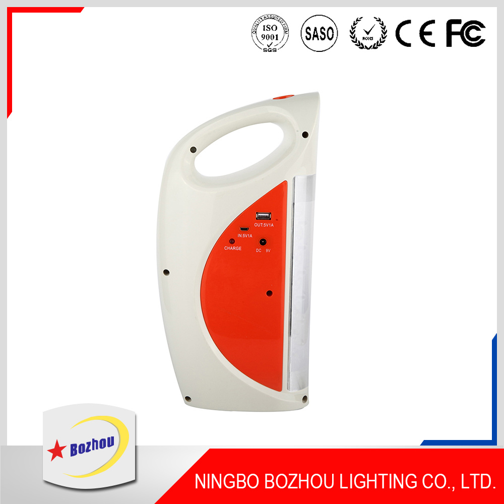 Light Manufacturer 12V Portable Rechargeable LED Emergency Light