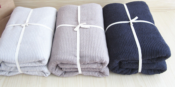 Light Weight Cotton Terry Air-Conditional Blanket, Summer Blanket