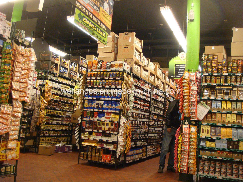 NSF Approval 800lbs Heavy Duty Supermarket Store Zinc Epoxy Display Wire Shelf Shelving