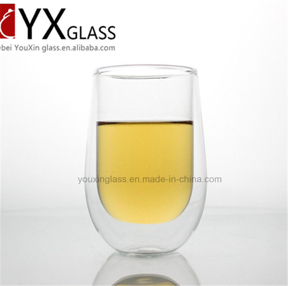 300ml Double Wall Glass Tea Cup /Double Wall Glass Espresso Glass Coffee Cup /Double Layer Glass