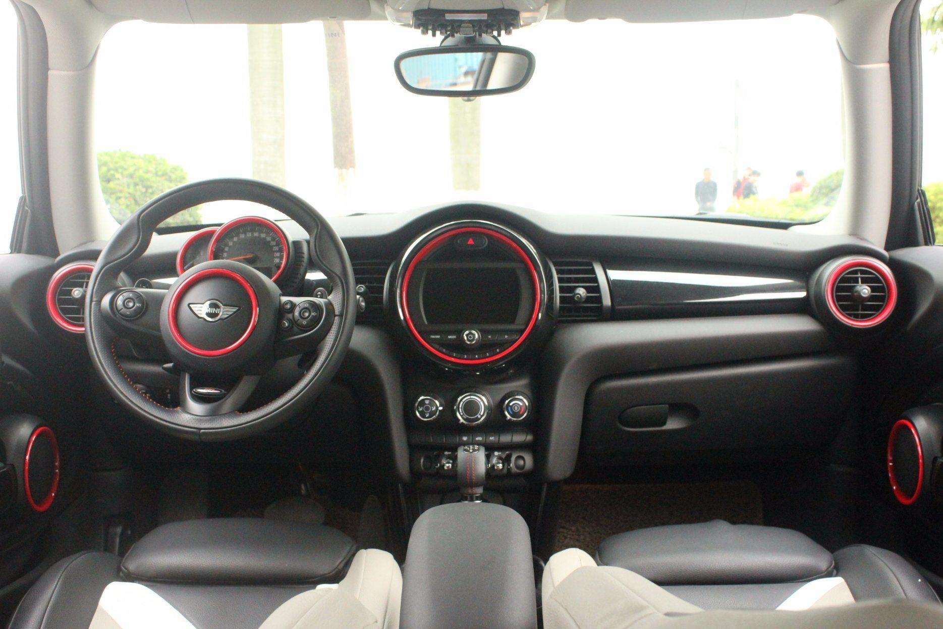 Interior Rings Black Color Mini Cooper F56 (11PCS/Set)