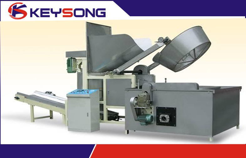 Automatic Snack Batch Food Frying Machine