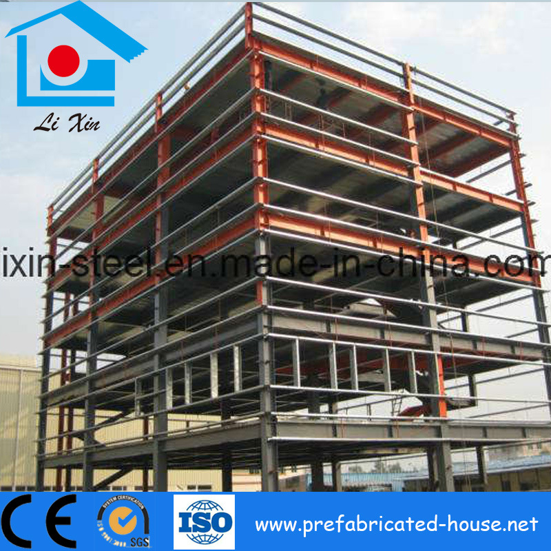 Multi-Floors Steel Structure Frame for Shopping Mall