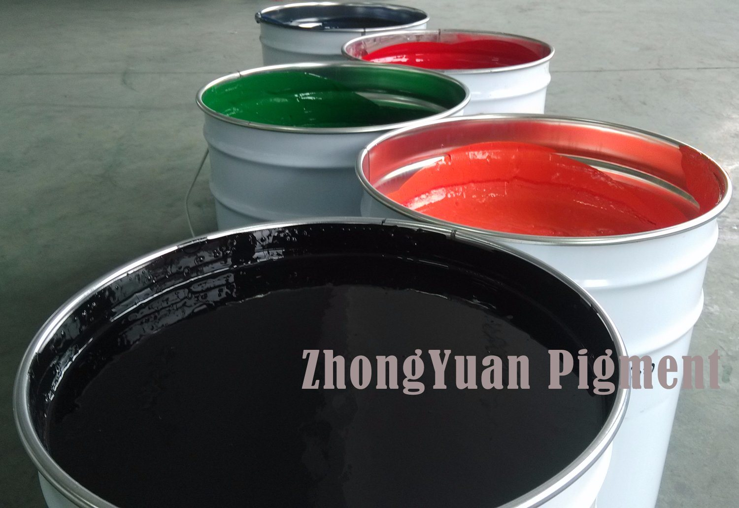 Zy-8069 Jet Black (Color paste for PU foam)