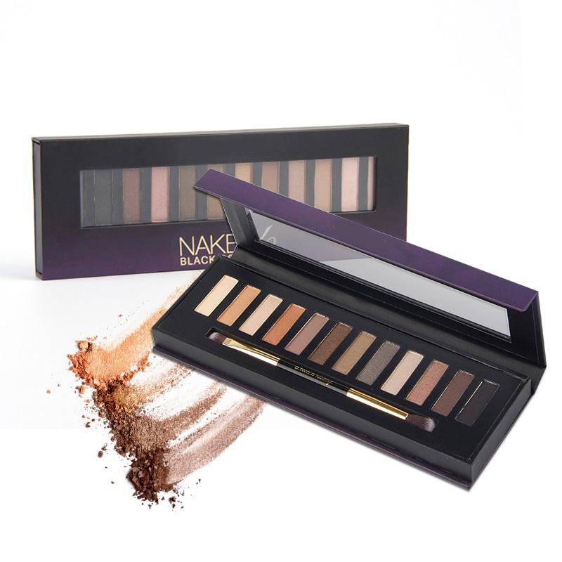12 Colors Eyeshadow Palette Highlighter Glitter Matte Effect Es0299