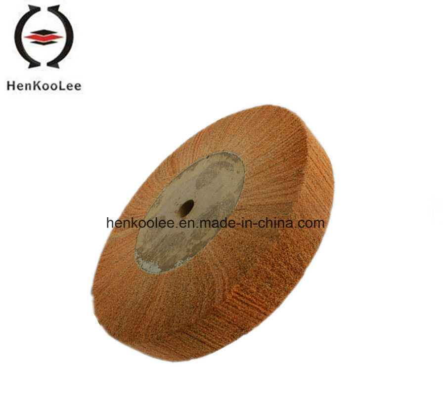 Non Woven Polishing Flap Wheel (Brown Colour)