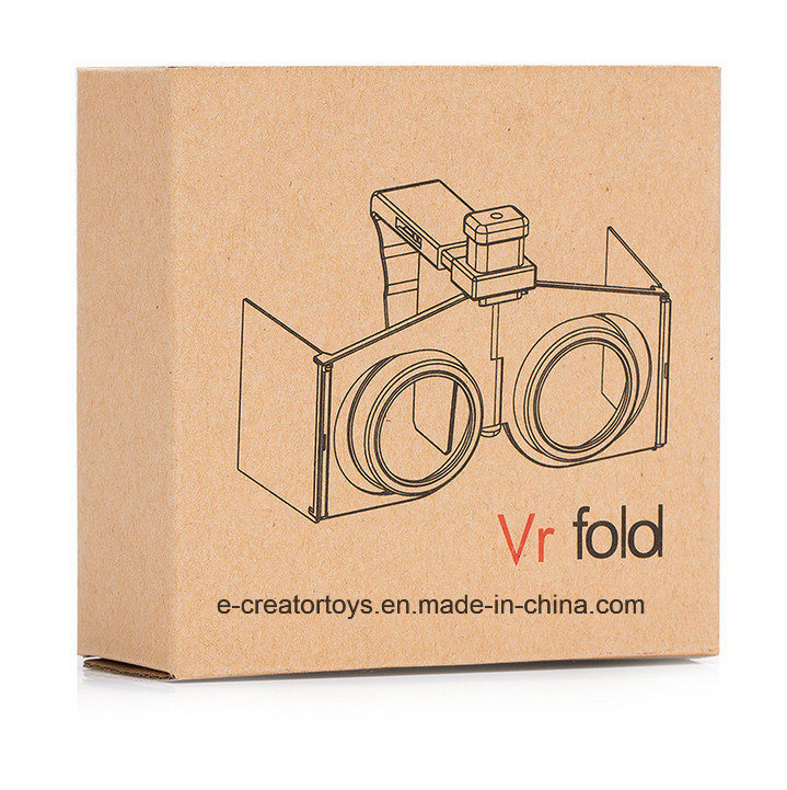 New Mini Portable Fold Virtual Reality 3D Glasses Cheapest Price in Promotional Gift