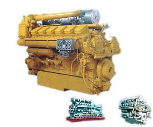 2000V Series Marine Engine (800~1000Kw) Water Cooled Lightweight Low Fuel Consumption