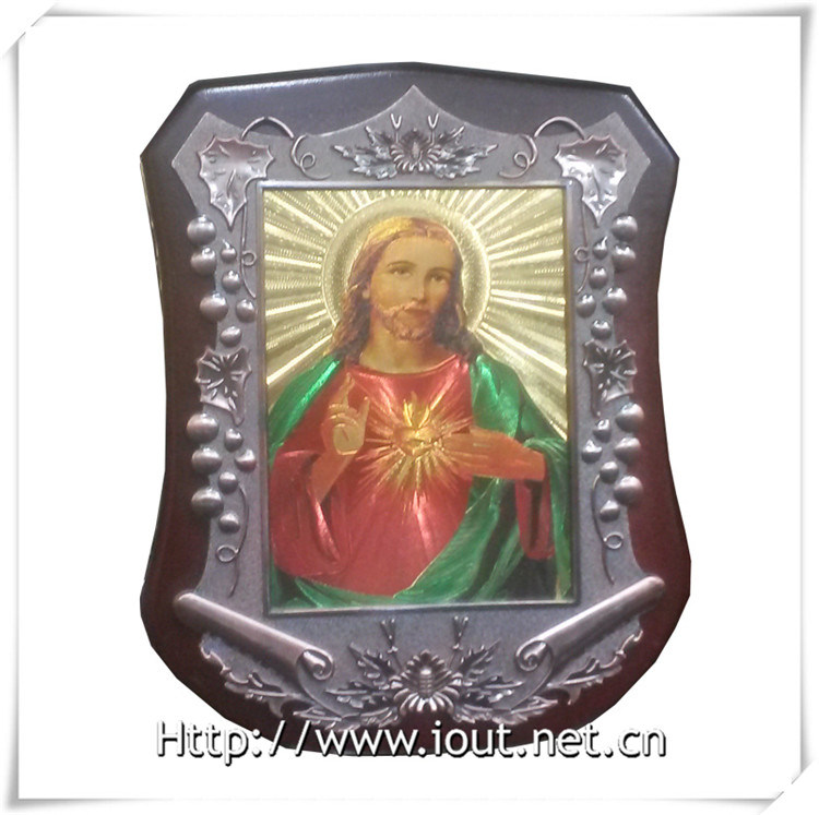 Marquetry Picture: Our Lady of Fatima, Religious Photo (IO-ca091)
