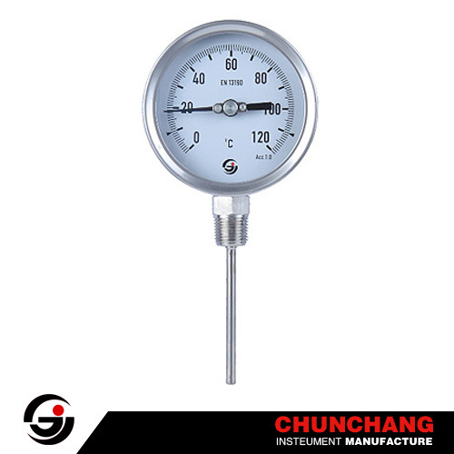 Wika Type Bottom All Stainless Steel Thermometer