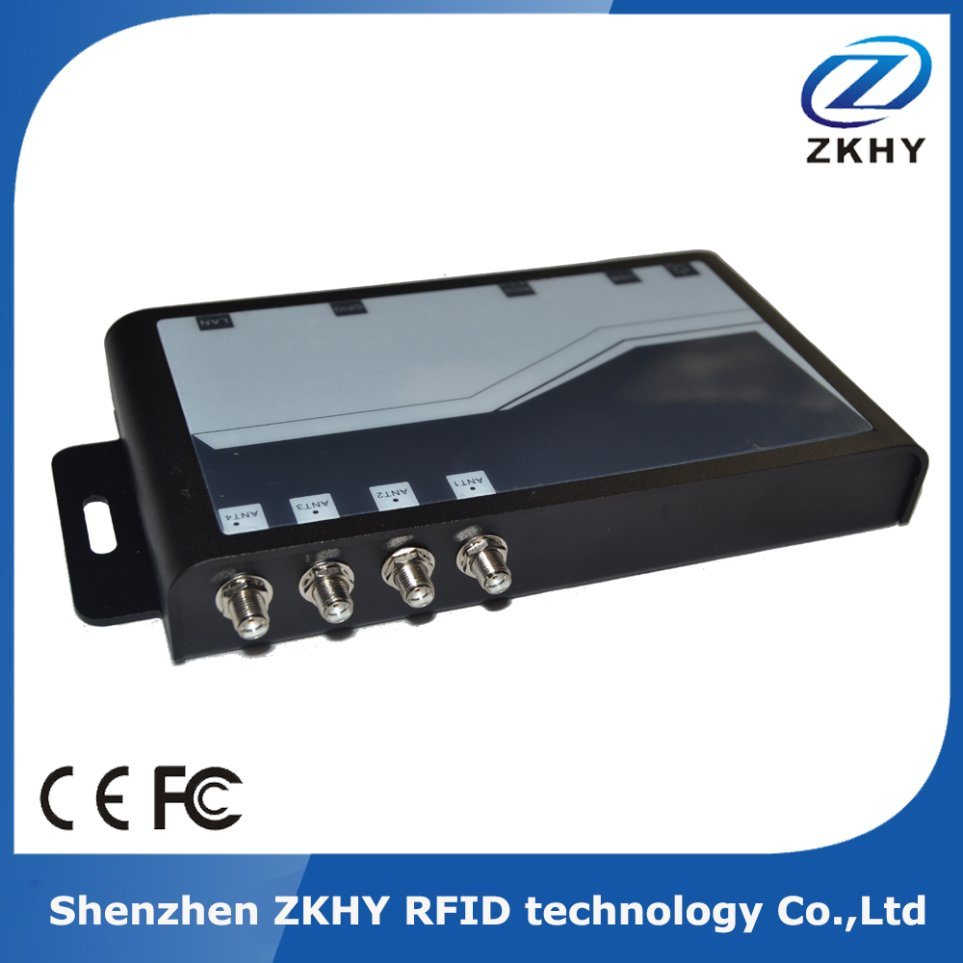 UHF RFID High Performance Smart Card 4 Channel Fixed Reader