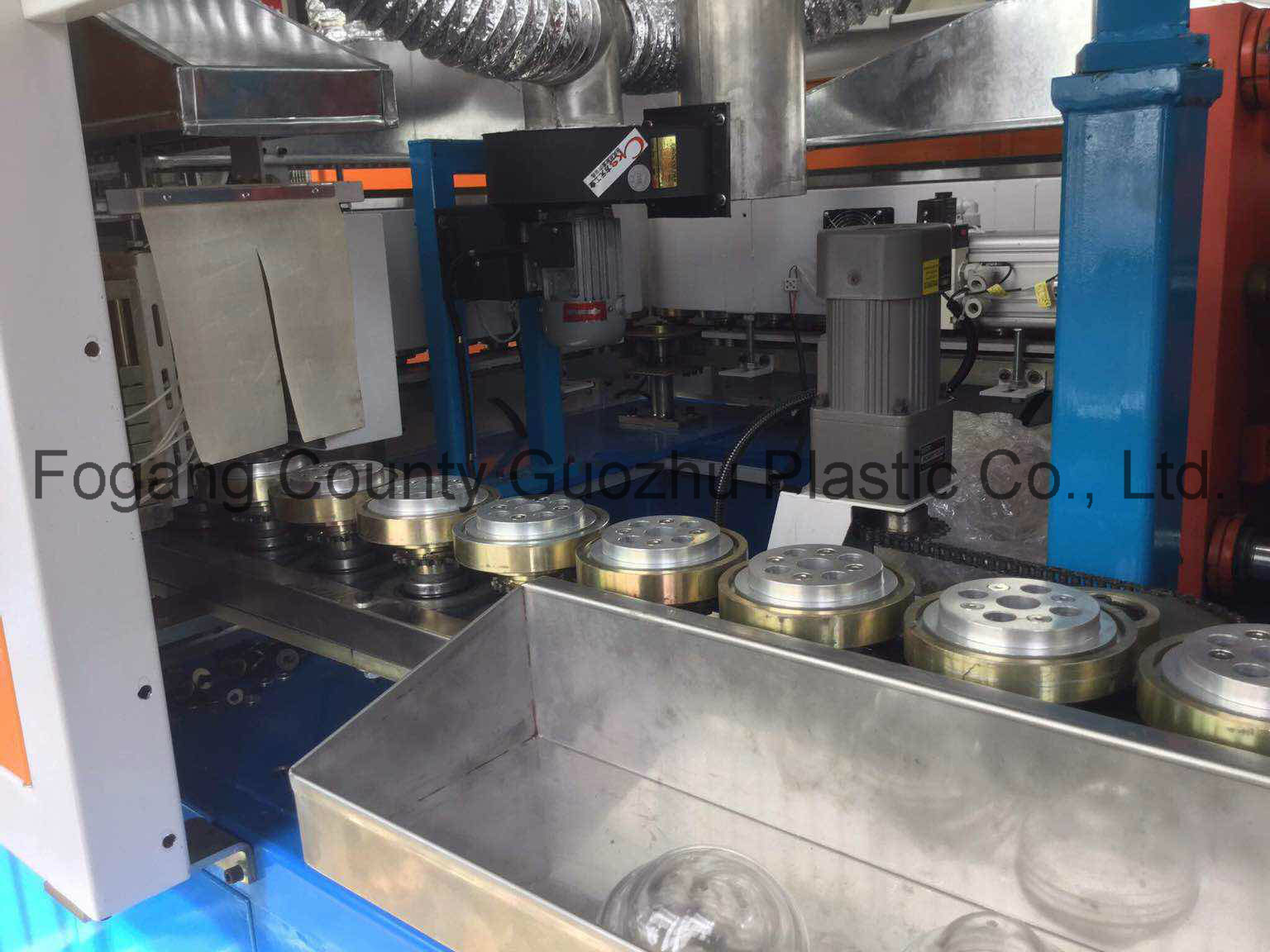 Pmlb-2t120 Linear Stretching Type Blowing Plastic Machinery for Jar