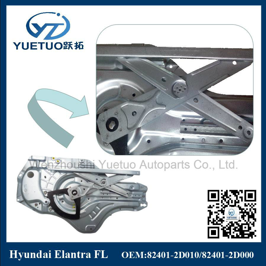 Hyundai Car Electric Window Lifter Elantra Front Left 82401-2D000