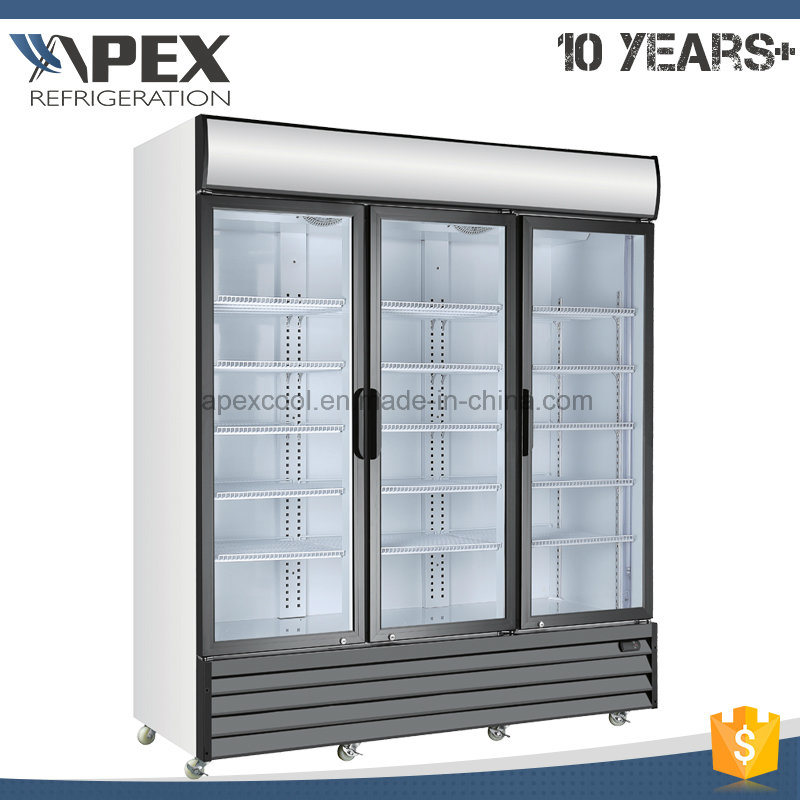 Commercial Beverage Display Cooler/Drinks Display Fridge/Supermarket Display Refrigerator