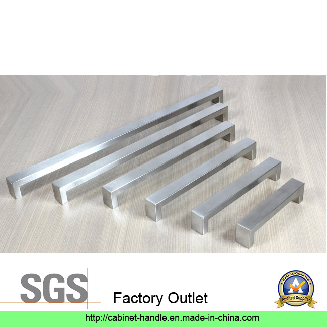 Factory Price Hollow Stainless Steel Furniture Kitchen Cabinet Hardware Door Bar Pull Handle (U 003)