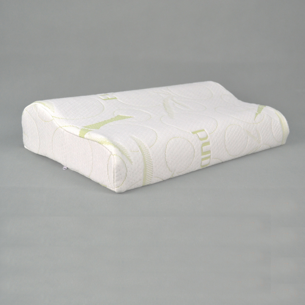 Massage Memory Foam Pillow with Bamboo Cover