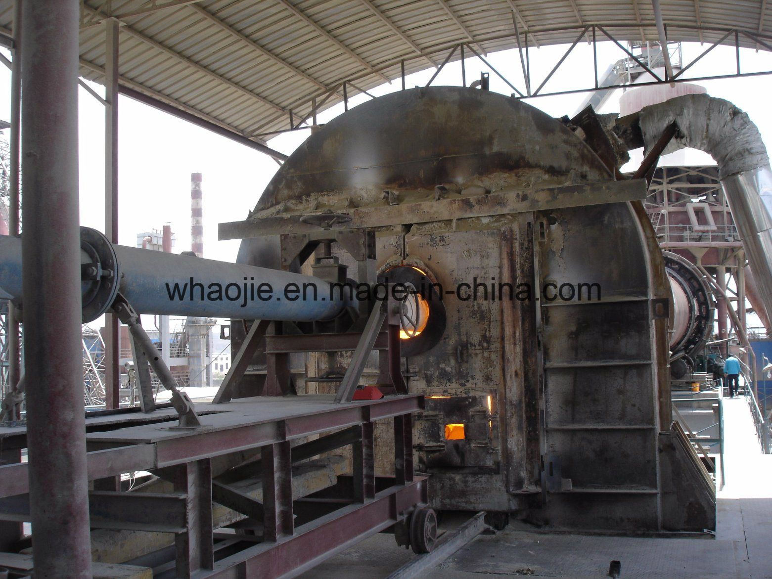 Petroleum Coke Burners Used in Lime or Cement Industry