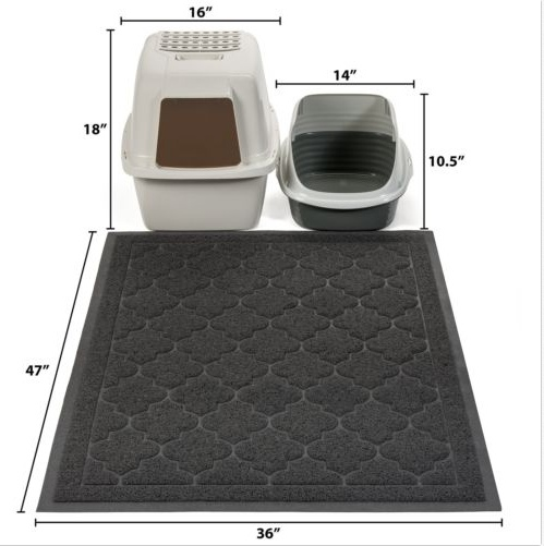 Pet Supply PVC Coil Cat Mat
