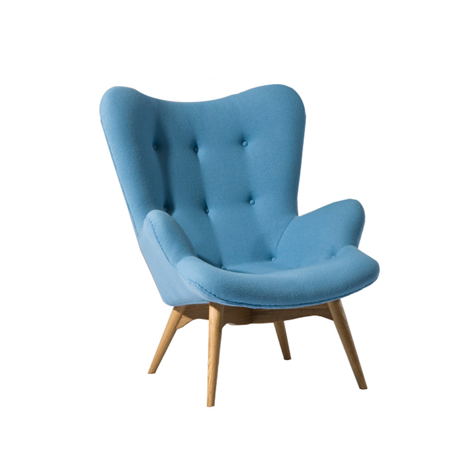 Modern Classic Furniture Feather Contour Chair
