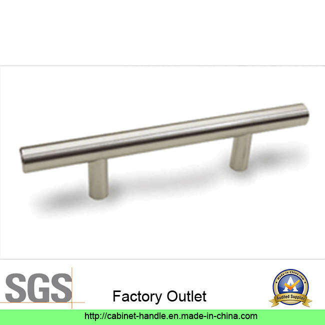 Factory Price Solid and Hollow Stainless Steel T Bar Furniture Kitchen Cabinet Hardware Pull Handle (T 135)