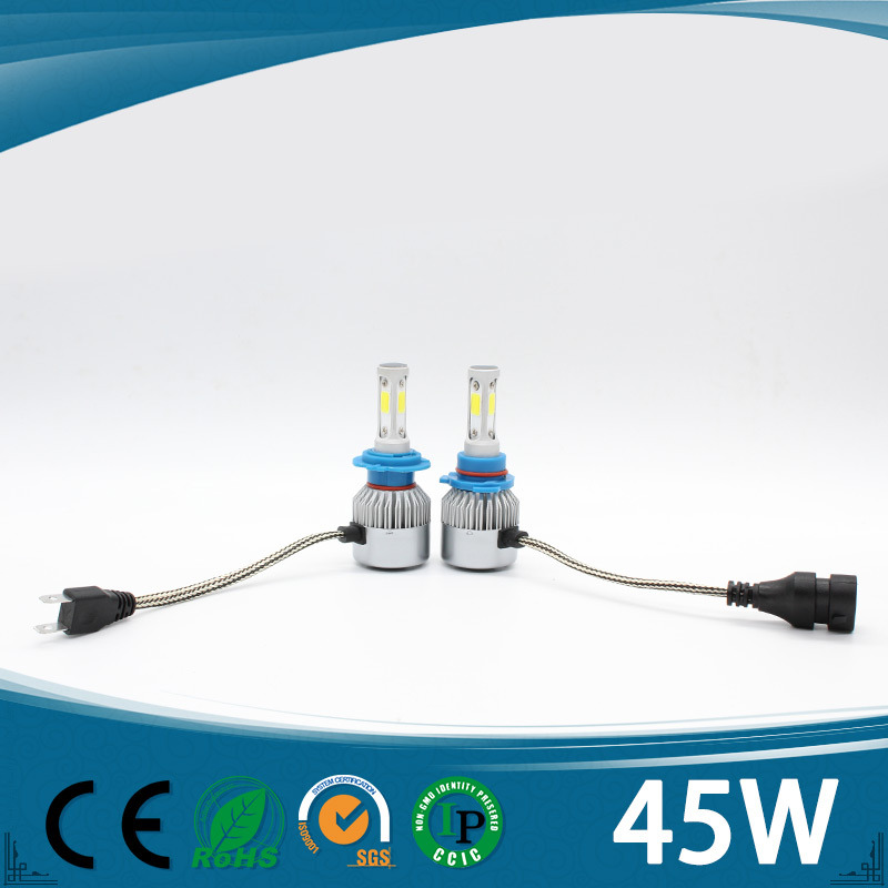 Top Quality Auto Parts S3 45W COB LED Headlight for Car Top Class Quality