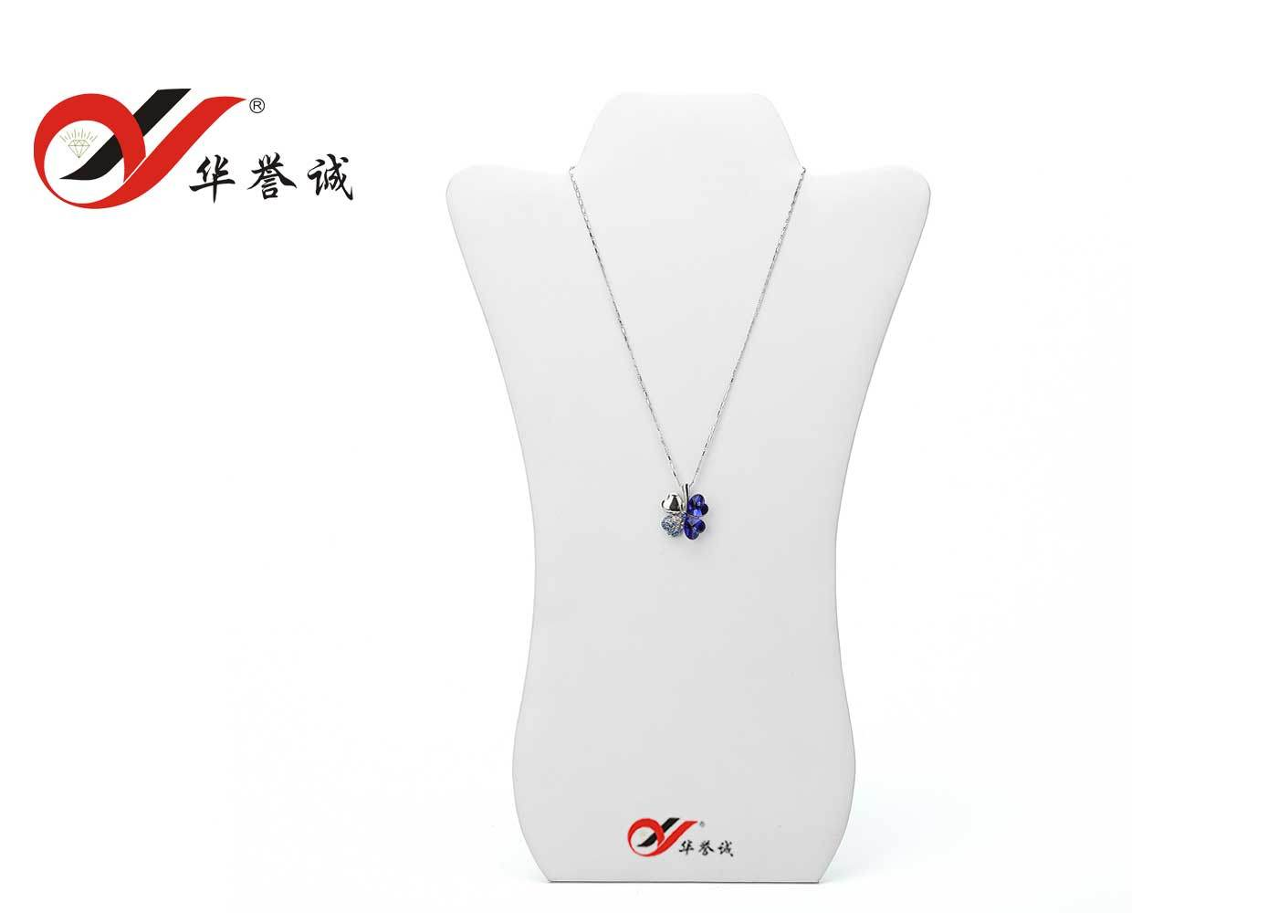 Velvet Jewelry Necklace Display Stand for Pendant Display
