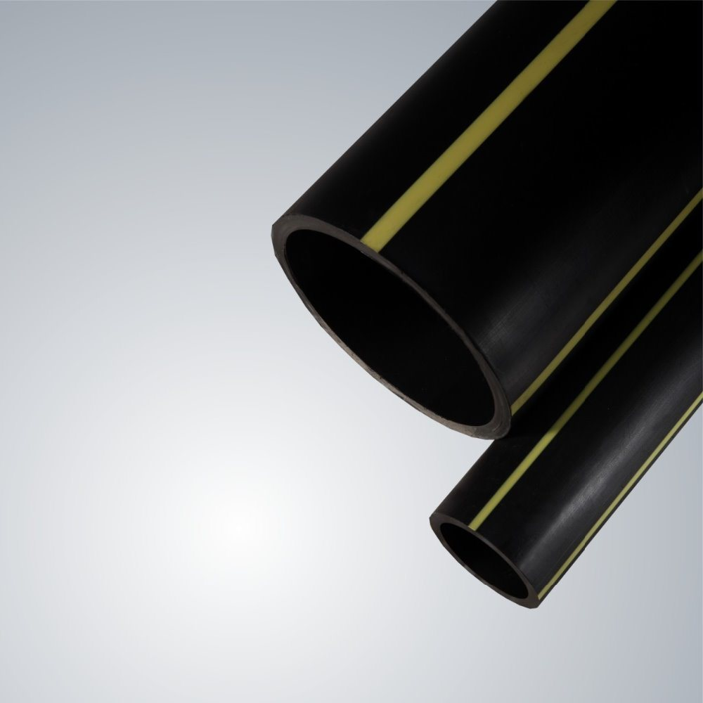 Full Range Diameter Gas Plastic HDPE Pipe