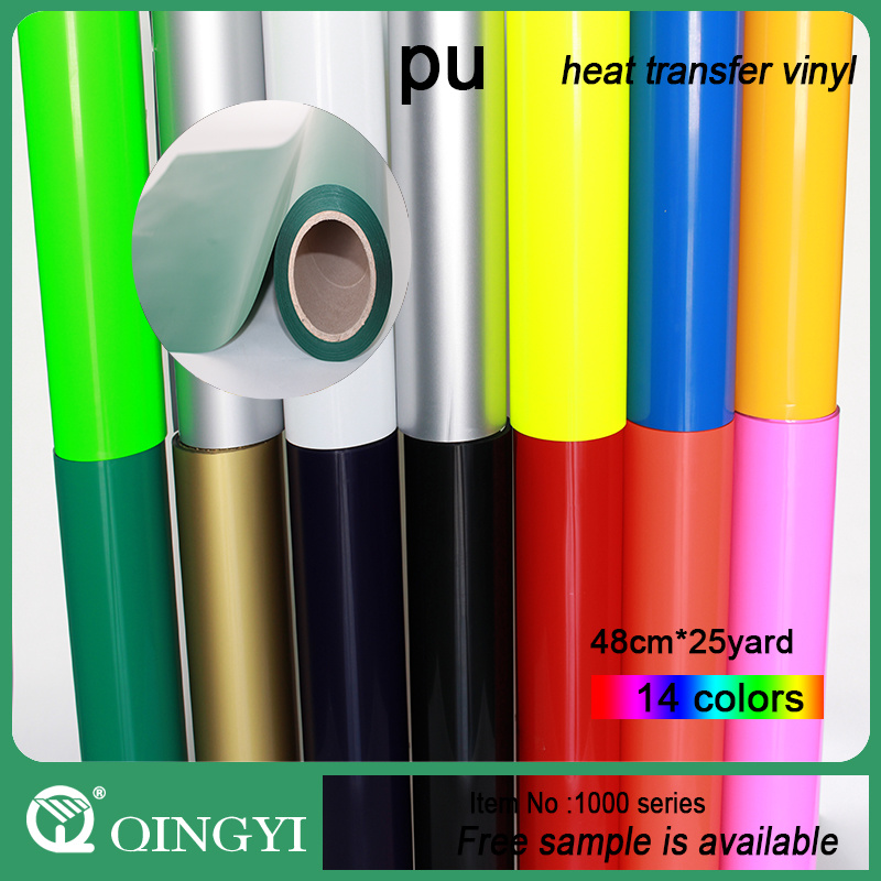 Qingyi Magical PU Heat Transfer Vinyl for Textile
