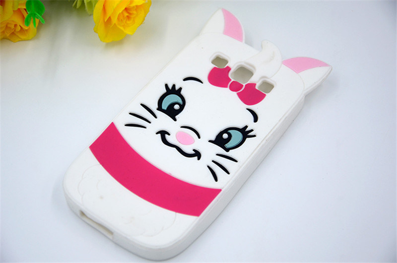 Silicone 3D Cartoon Cute Cheshire Cat Sulley Tigger Patterns for Oppo A35 A37 A59 Phone Accessories