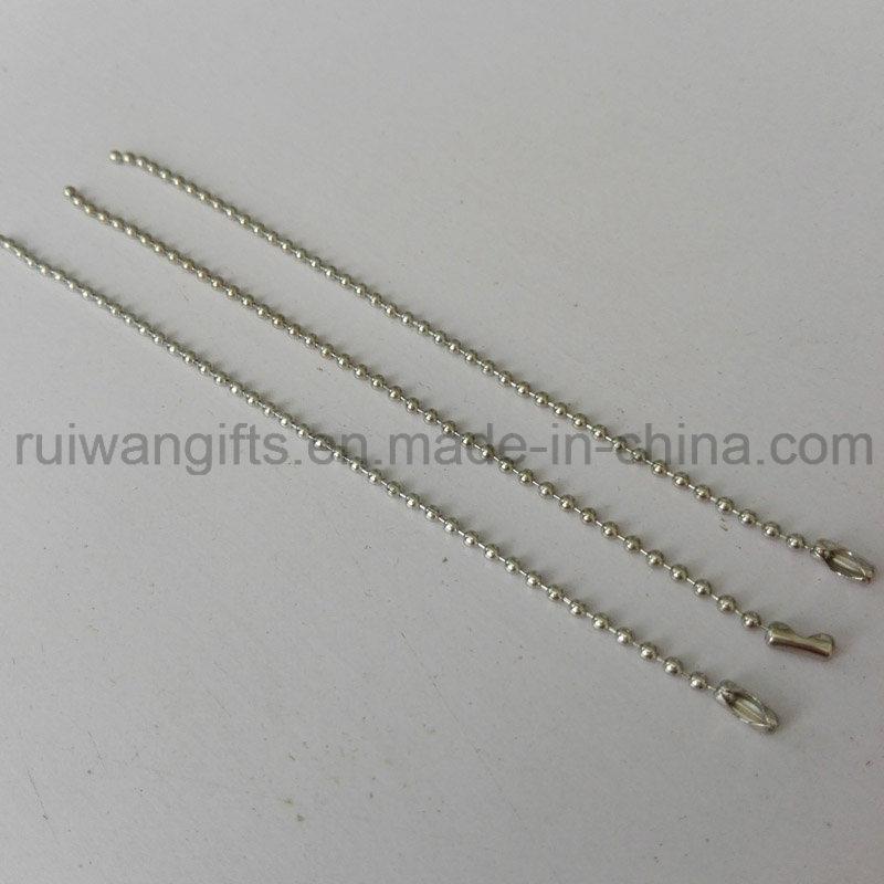 2X120 mm Metal Ballchain, Accessories Stainless Steel Ballchain