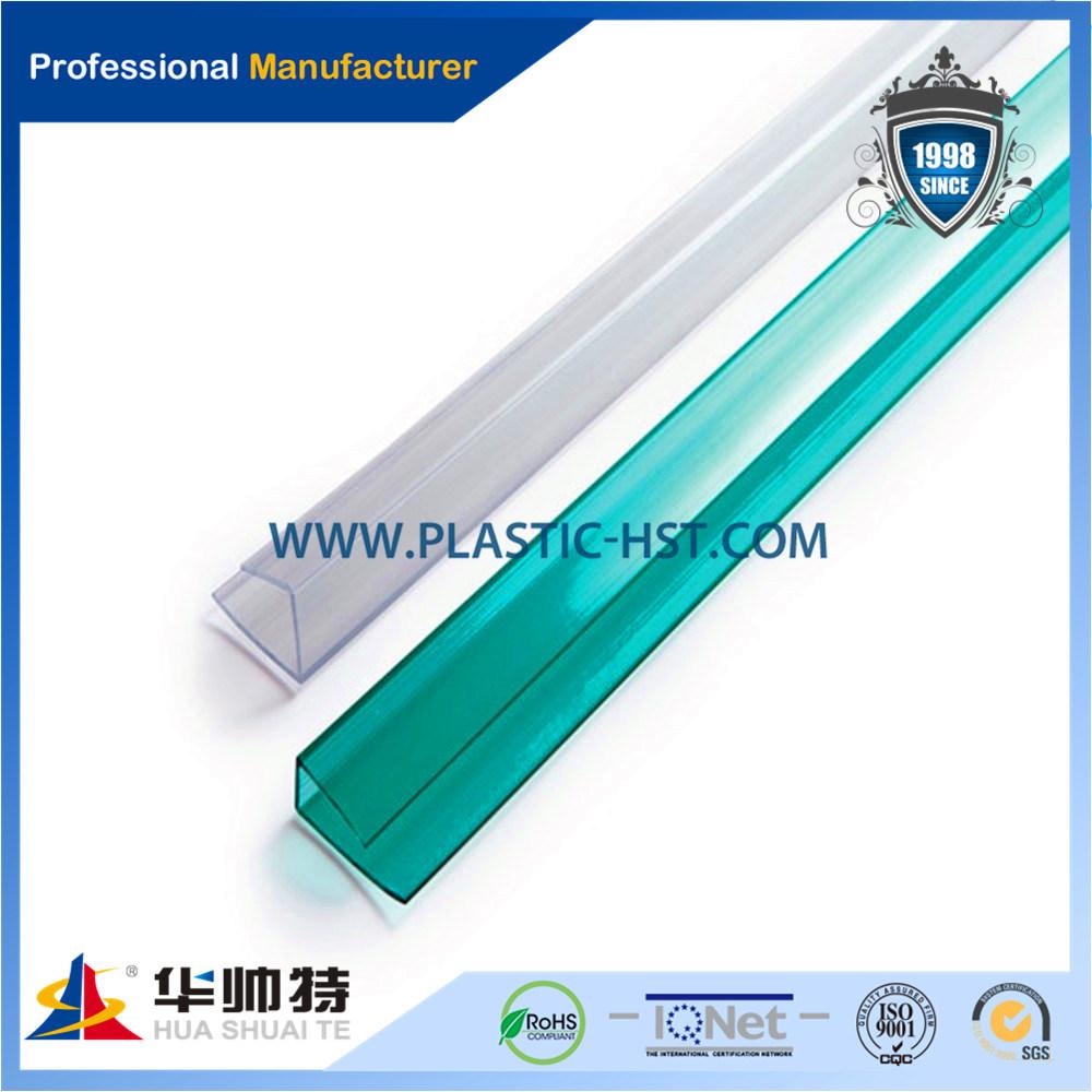 Popular Hot Sale Transparent Polycarbonate Profile