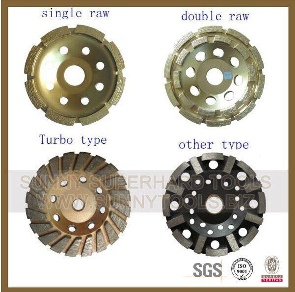 Manufacturer Diamond Cup Wheels/Diamond Grinding Wheels